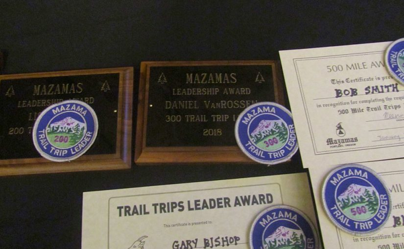Mazamas Hike Leaders Appreciation Night