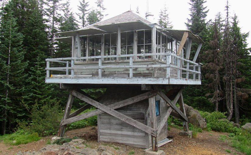 Cool Creek Trail to Devils Peak Lookout